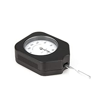 JullyeleESgant Tensiómetro analógico de 150 g. Precio con un Solo indicador. Dial. Medidor de tensión. Medidor. Probador Dinamómetro tabular.