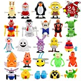 FUNNISM 24 Pieces Assorted Wind-up Toys for Kids