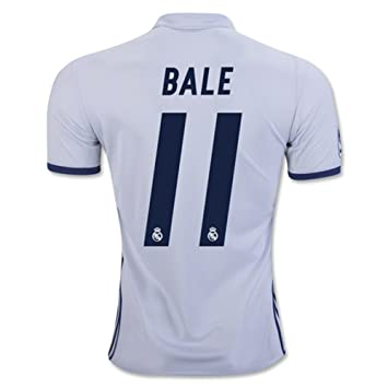 CBUJSS-Sports 2016 2017 Real Madrid CF 11 Gareth Bale Home Jersey de  Football de 384f71a3c86f2