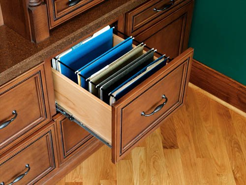 File System Insert for Drawers - RAS-SMFD-52 - 13''W x 19-1/4''D x 9-3/4''H - Black by handyct