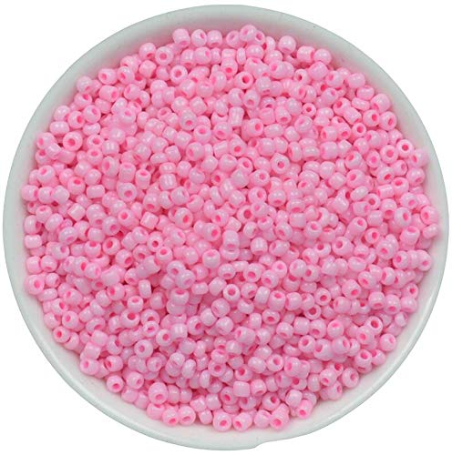 Seed Beads | Czech Glass Beads | Charm Spacer Beads | for Jewelry Making (1000Pcs 2Mm)