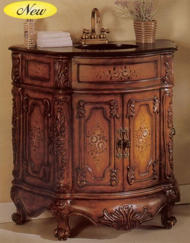 Elizabethan Style Sink by Acme Furniture