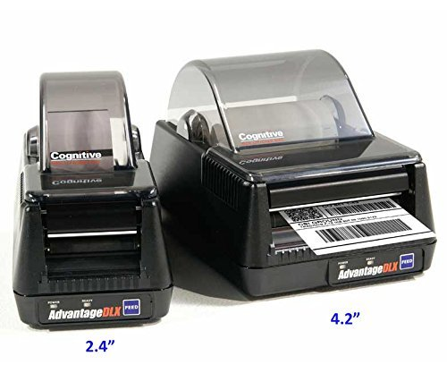Cognitive DLXi, Direct thermal Printer, 4.2IN, 203 dpi, 8MB, 5 ips, 100-240 Vac PS, USB, USB-A, Serial, Parallel, US Power cord DBD42-2085-G1S