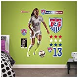 World Cup Soccer United States Alex Morgan Big Wall Decal