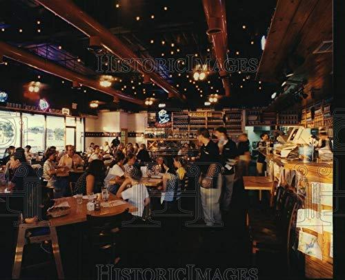 Vintage Photos 1995 Press Photo Interior of The Original Pasta Co Restaurant in Houston