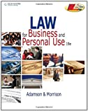 img - for By John E. Adamson - Law for Business and Personal Use: 19th (nineth) Edition book / textbook / text book