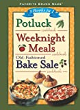3 in 1 Weeknight Meals, Pot Luck, Bake Sale, Publications International Staff, 1412729114