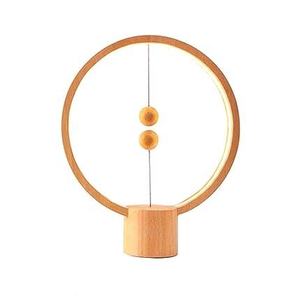 WGE Protección para los Ojos/Mini lámpara con Interruptor de Flotador magnético, Ojos cálidos