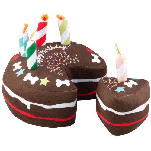 Terrific House Of Paws Celebration Happy Birthday Chocolate Cake Dog Toy Funny Birthday Cards Online Fluifree Goldxyz