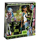 Monster High Mad Science Cleo De Nile & Ghoulia Yelps 2-Pack
