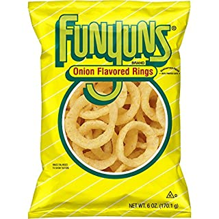 Funyuns Onion Flavored Rings, 6 Ounce