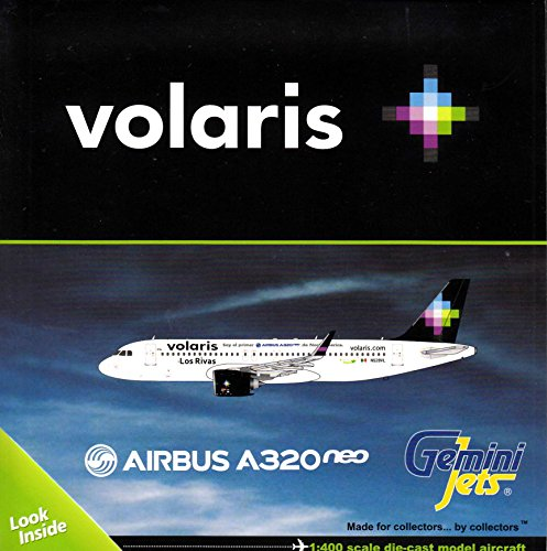 Gemini Jets Volar Is A320neo N528vl Los Rivas 1 400 Scale Model Airplane Die Cast Aircraft