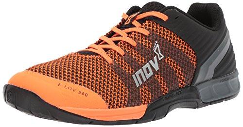 - Inov-8 Men's F-LITE 260 Knit (M) Cross Trainer, Orange/Black, 10 D US