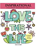 img - for Inspirational Coloring Book for Girls: Inspiring Quotes to Color (Coloring Books for Girls) book / textbook / text book