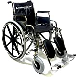 KosmoCare Premium Imported Comfy Wheelchair with calf support and elevating footrest - RCS201