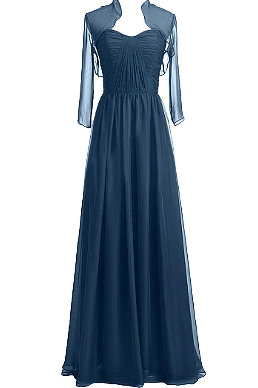 Missdressy Elegant Chiffon Lang Tuell Falten Abendkleider Partykleider  Mutterkleider Promkleider Festkleider jetzt bestellen