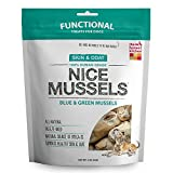 Honest Kitchen The Nice Mussels Dog Treats - Natural Human Grade Freeze Dried Treats, Blue & Green Mussels, 2 oz