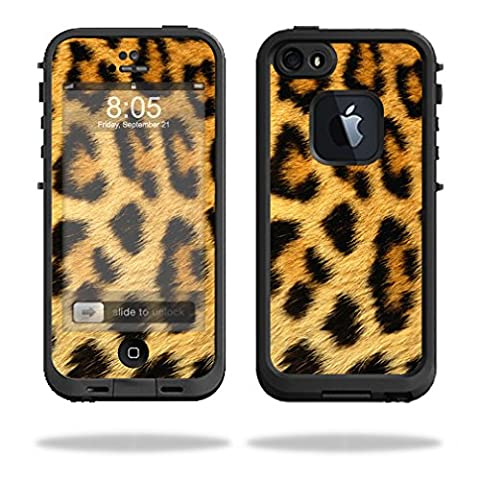 Mightyskins Protective Vinyl Skin Decal Cover for LifeProof iPhone 5/5s/SE Case fre Case wrap sticker skins (Iphone 5 Cases Cheetah)