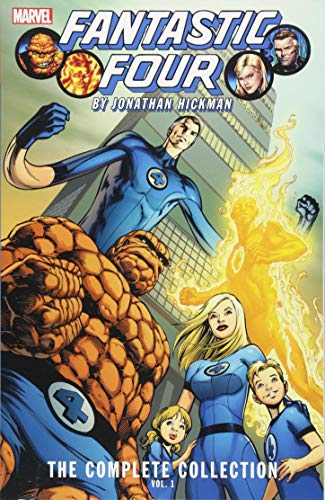 Fantastic Four by Jonathan Hickman: The Complete Collection Vol. ()
