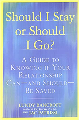 Click to buy Should I Stay or Should I Go?: A Guide to Knowing if Your Relationship Can--and Should--be Saved from Amazon!