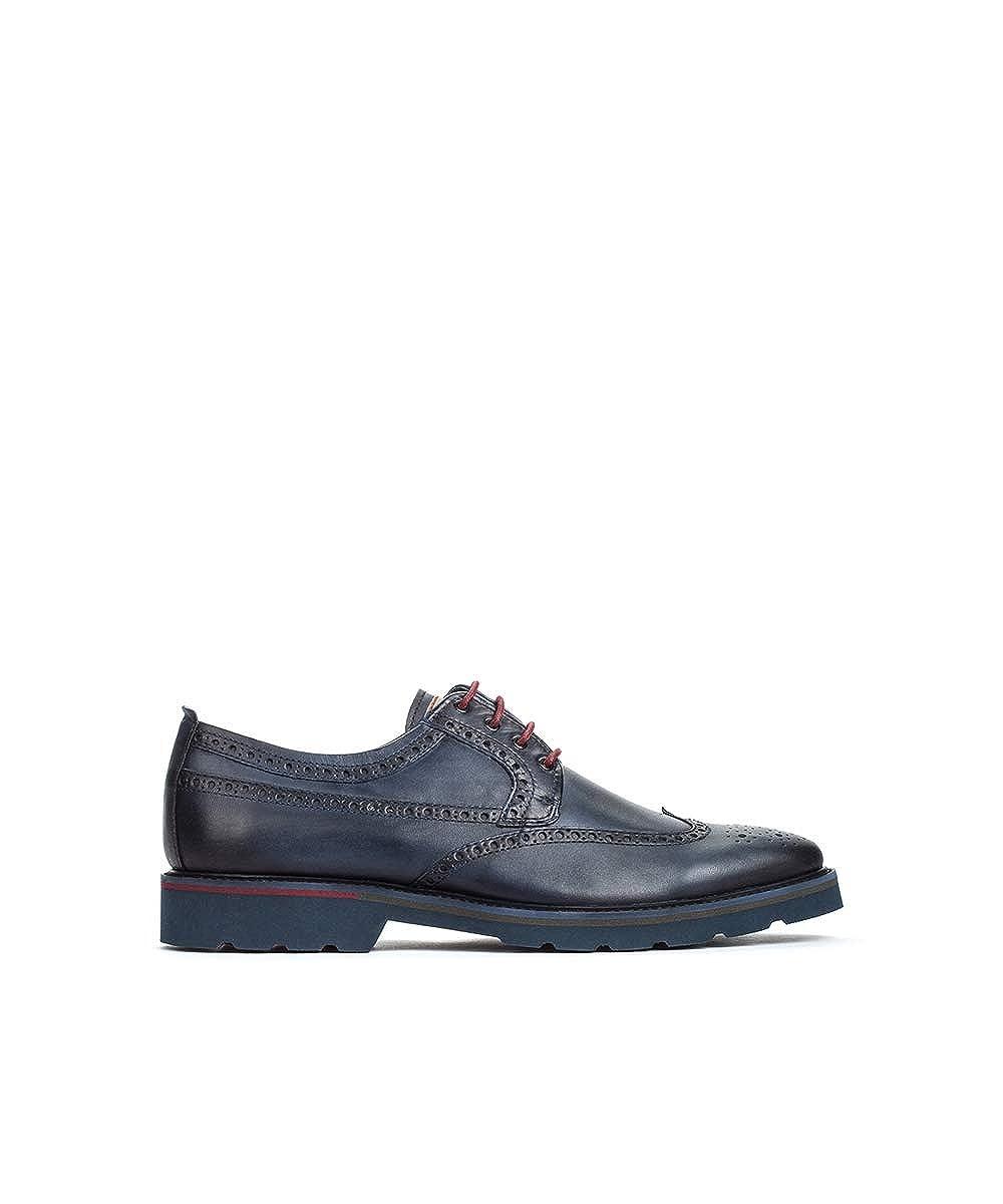 azul PIKOLINOS Zapato Plano de Piel SALOU M9M