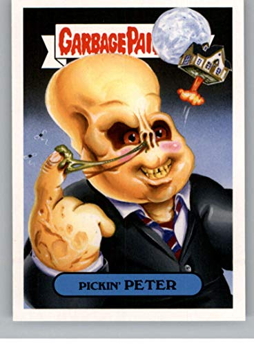 2018 Topps Garbage Pail Kids Oh The Horror-ible 80s Sci-Fi Sticker B NonSport #10B PICKIN' PETER ()