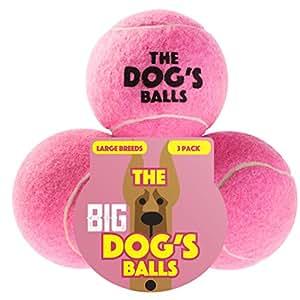 Pet Supplies : The Dog's Balls The Big Tennis Balls