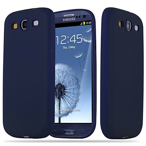 with Samsung Galaxy S3/S3 NEO in CANDY DARK BLUE (Design CANDY) – Shockproof Scratch Resistant Gel Case Protective Shell Bumper Skin Back Cover ()