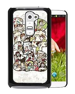 Bad Boys Bad Girls Durable High Quality LG G2 Phone Case
