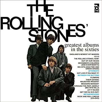 The Rolling Stones: Greatest Albums in the Sixties SHM