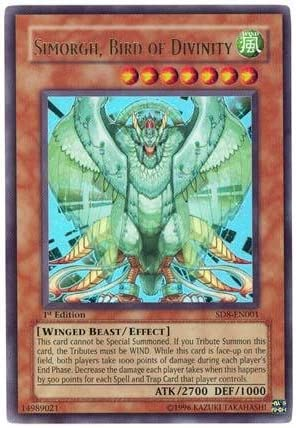 Near Mint Condition Simorgh Bird Of Bringing Rare YUGIOH Card Mint