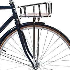 Customize your bike with a State Bicycle Co. front basket. Perfect for any cruiser, the front basket provides ample space for your bag, a six-pack, or any other transportables. Fits snugly on any of our Core Line Models, Premium Models, City ...