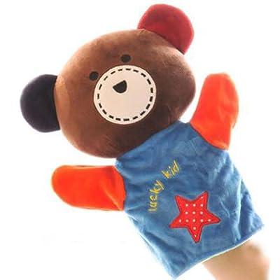 Facile à utiliser marionnette à main / Bear Pattern enfants jouant des accessoires