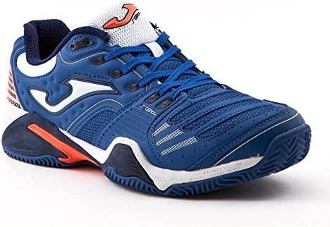 Joma Zapatilla Padel Slam Azul Royal Clay Talla 42 EUR: Amazon.es ...