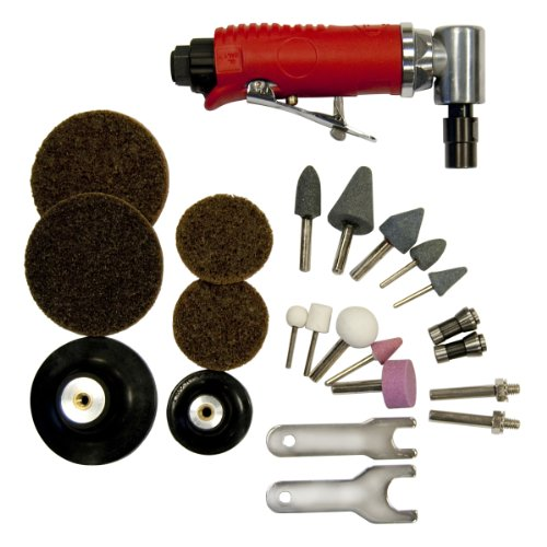 Mini Angle Grinder Kit (OEMTOOLS 25777 Right Angle Air Die Grinder Kit)