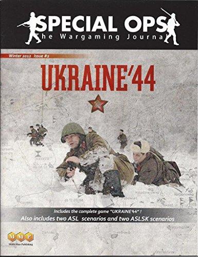 [해외]MMP: 특별 작전 워 게이밍 저널 이슈 #2 우크라이나 ` 44 보드 게임으로 겨울 2012 / MMP: Special Ops Wargaming Journal Issue #2 Winter 2012 with Ukraine `44 Board Game