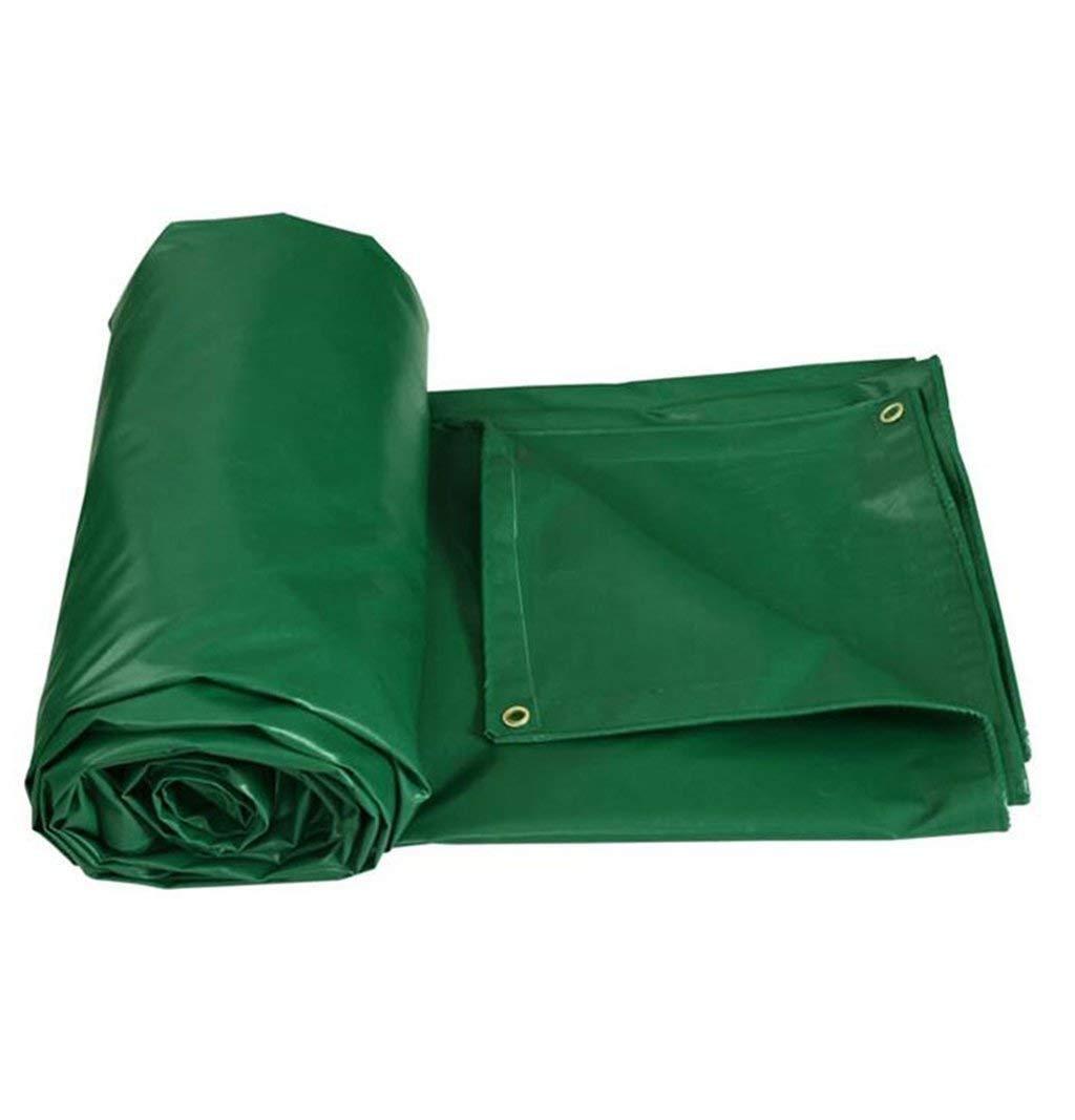 YINUO Heavyweight Outdoor Padded Outdoor Heavyweight Rainproof Waterproof Sunscreen Anti-Freeze Waterproof Canvas Plane, Boot, Camping, Dach oder überdachte oder überdachte Schwimmbadplane (450g   M2) erhältlich in einer 1728d8