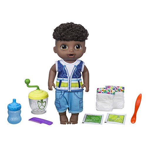 - Baby Alive Sweet Spoonfuls Baby Doll Boy (Black Hair)