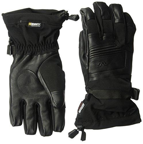 Gordini Stretch Gloves - Gordini Men's Men's Downtek Gauntlet Waterproof Insulated Gloves, Black, X-Large
