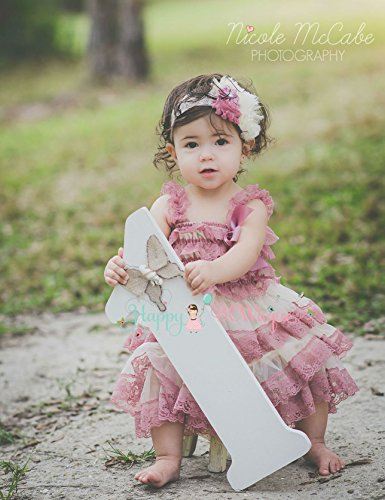 708604a948ce 2pcs Girl Champagne Rose Chiffon Lace Dress set