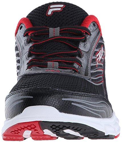 Fila Delantero 2 zapatillas de running Black/Dark Silver/Fila Red