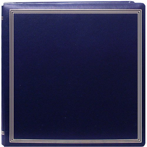 Large Magnetic Page X-Pando Photo Album, Navy Blue