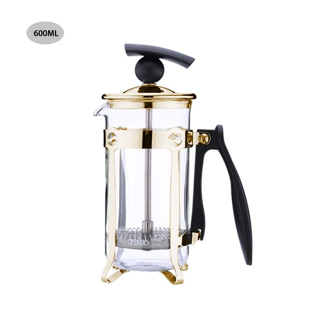 Acquisto QUUY Caffettiera Lavata A Mano – Caffettiera con Filtro in Acciaio Inox Caffettiera in Acciaio Inossidabile Resistente alla Pressione Prezzi offerta