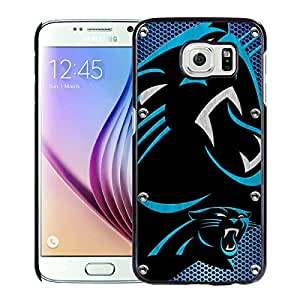 Samsung Galaxy S6 Case,100% brand new Carolina Panthers 04 Black Case For Samsung Galaxy S6