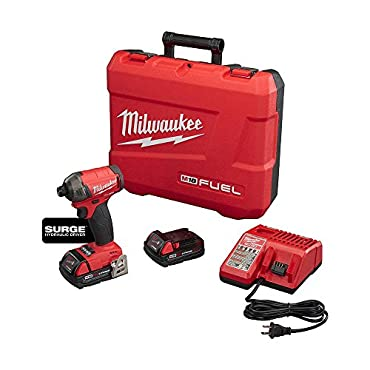 Milwaukee 2760-22CT M18 FUEL Surge 1/4 Hex Hydraulic Impact Driver Kit