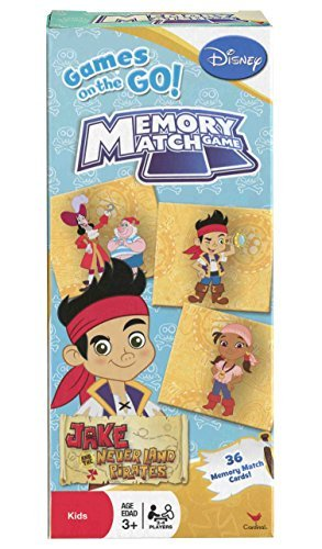 Disney Jake and the Neverland Pirates Memory Match Game]()