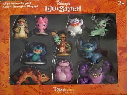 Amazoncom Lilo Stitch Alien Action Playset Toys Games