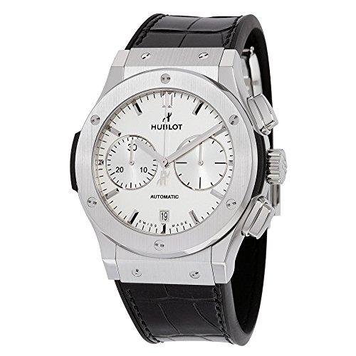 Hublot Classic Fusion Chronograph White Opalin Dial Titanium Mens Watch 521.NX.2611.LR