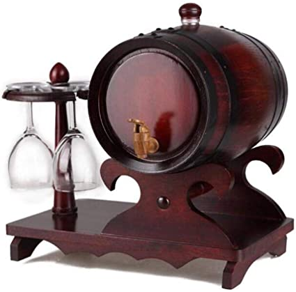 Qujifangjt Barriles De Roble De 5 litros, Copas De Vino ...