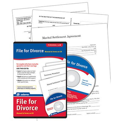 File For Divorce Compact Disc (Set of 8) [Set of 8]
